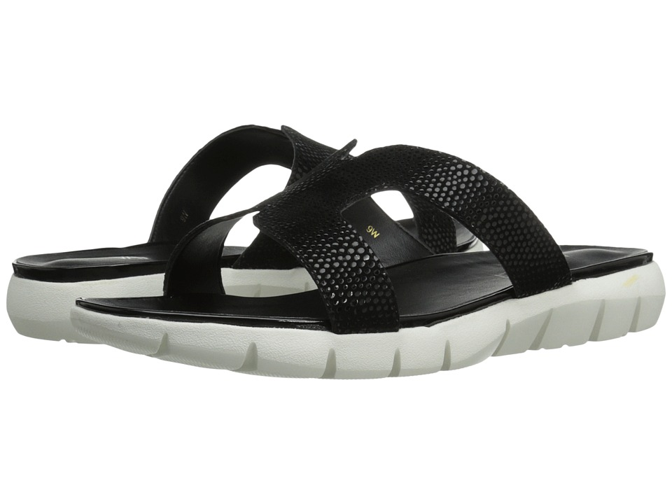 Vaneli - Keary (Black E-Print) Women's Sandals