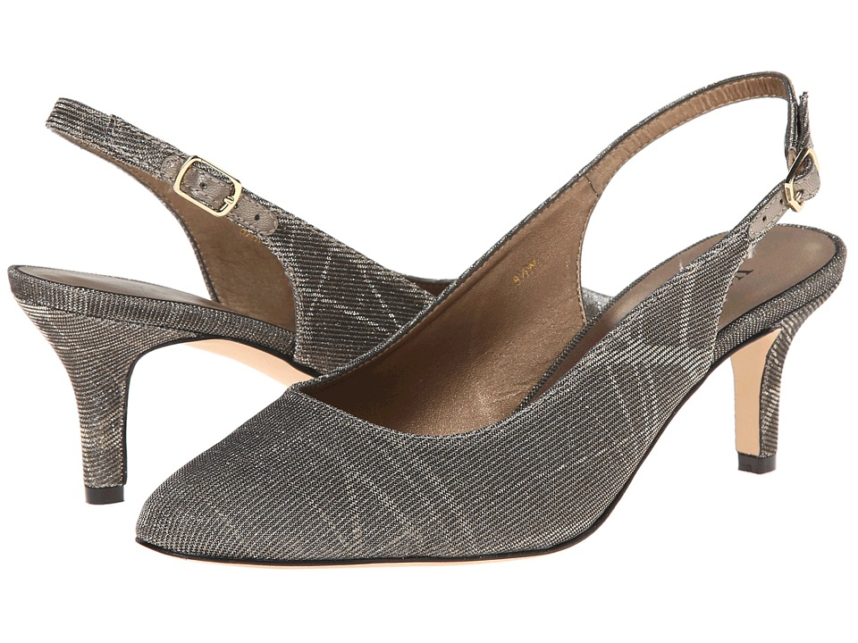 Vaneli - Luella (Platinum Nizza Fabric) High Heels