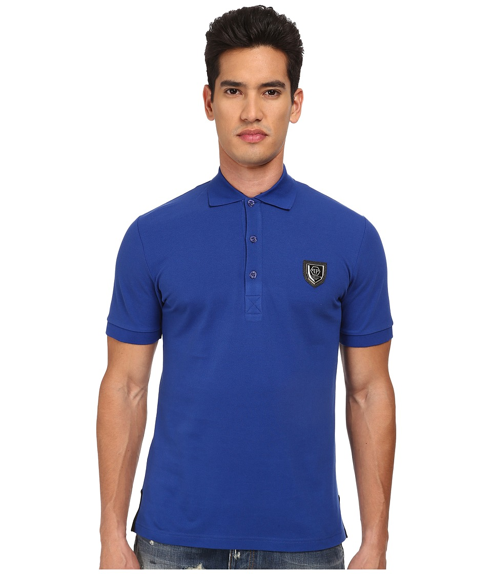 Philipp Plein - Killer Polo (Blue) Men's Clothing