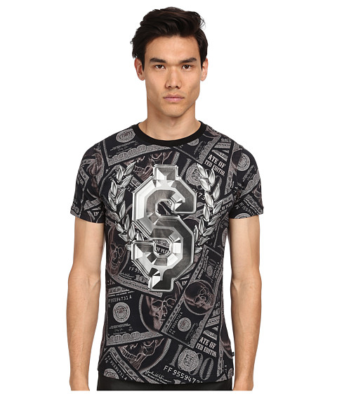 Philipp Plein - Analyse T-Shirt (Black) Men's T Shirt