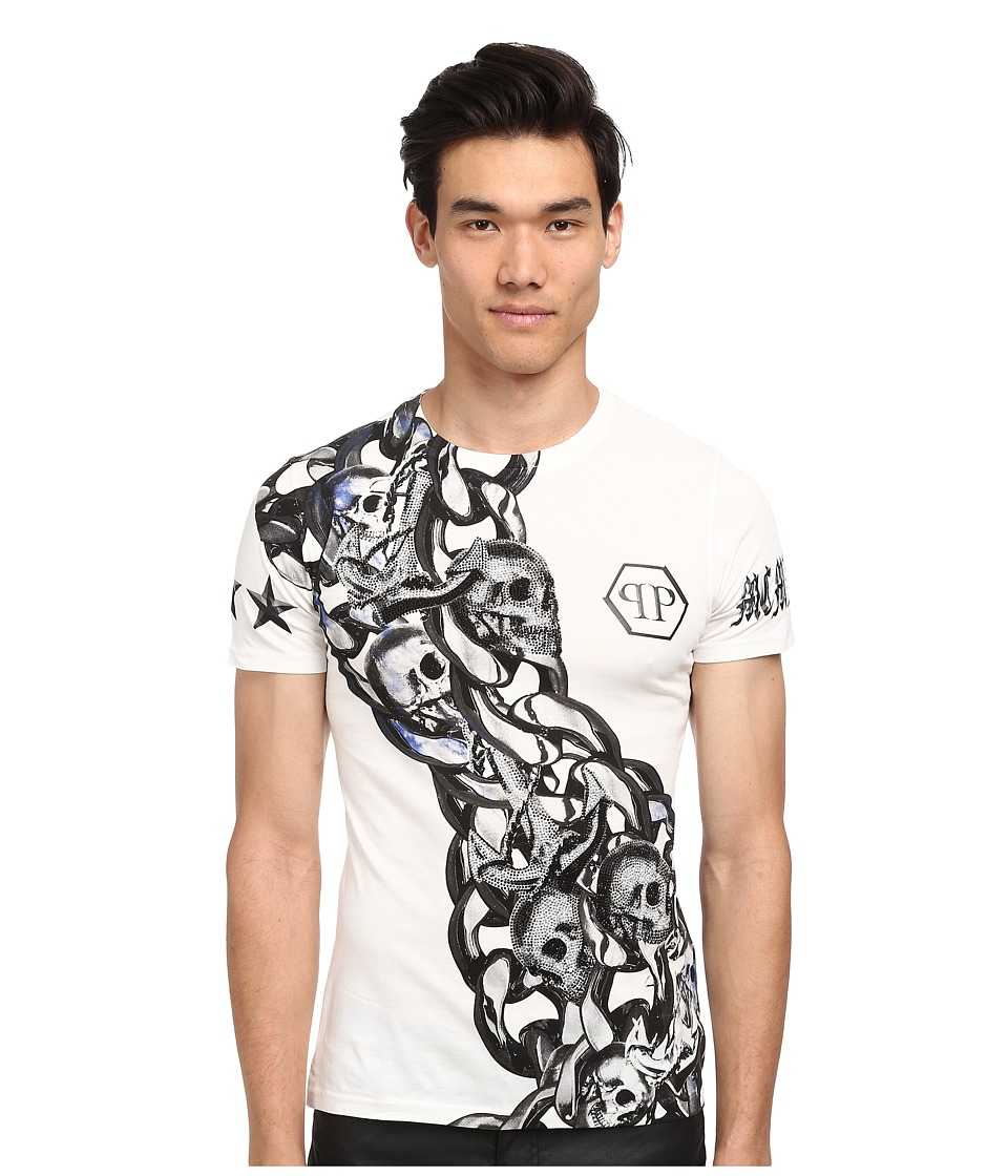 Philipp Plein - Orion T-Shirt (White) Men's T Shirt