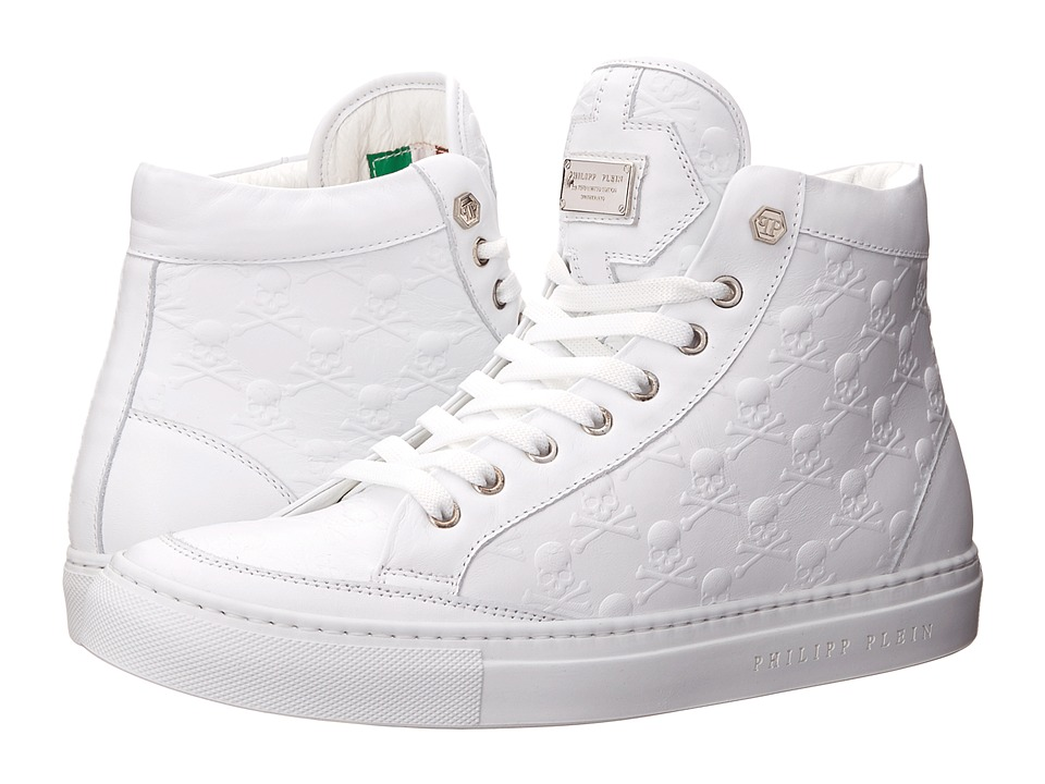 Philipp Plein - Completely Sneaker (White) Men's Shoes