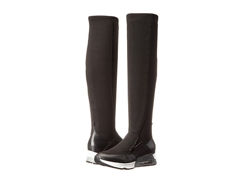 ASH - Lynx (Black/Black/Nappa Wax/Plain Neoprene) Women's Pull-on Boots