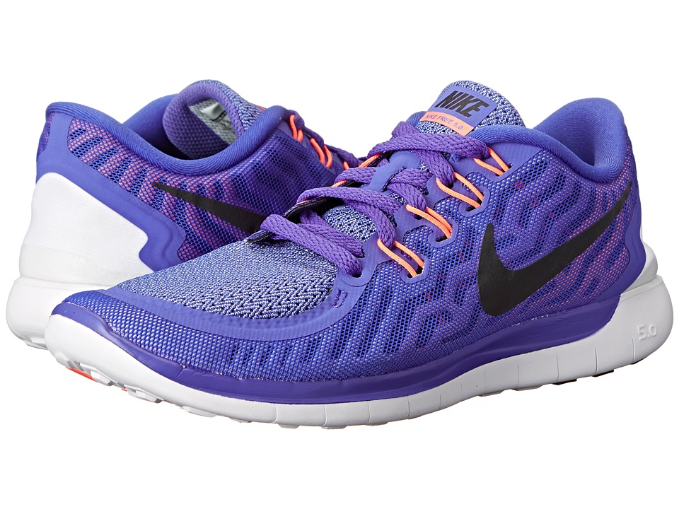 Nike - Free 5.0 (Persian Violet/Aluminum/Fuchsia Glow/Black) Women's Running Shoes