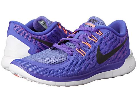 Nike - Free 5.0 (Persian Violet/Aluminum/Fuchsia Glow/Black) Women's Running Shoes