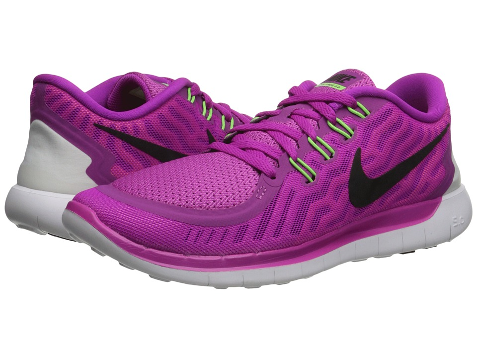 Nike - Free 5.0 (Fuchsia Flash/Pink Pow/Hot Lava/Black) Women's Running Shoes
