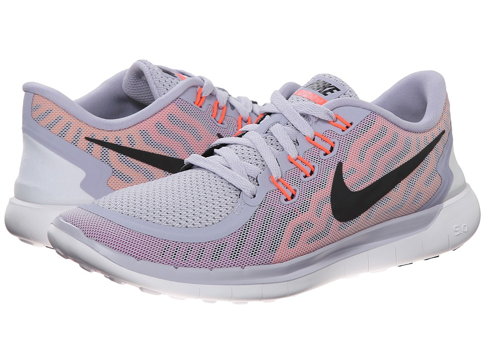 Nike - Free 5.0 (Titanium/Fuchsia Flash/Hot Lava/Black) Women's Running Shoes