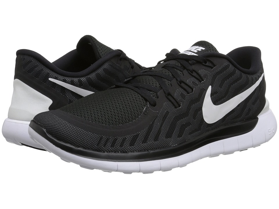 Nike - Free 5.0 (Black/Dark Grey/Cool Grey/White) Men's Running Shoes