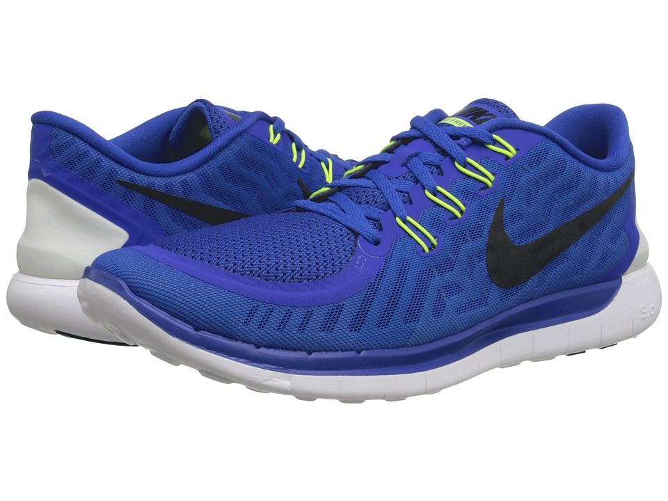 Nike - Free 5.0 (Game Royal/Neo Turquoise/Light Retro/Black) Men's Running Shoes