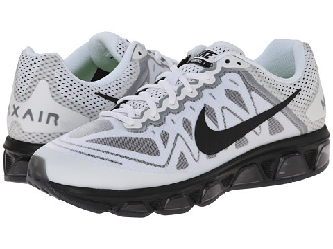 Nike - Air Max Tailwind 7 (White/Black) Men's Running Shoes