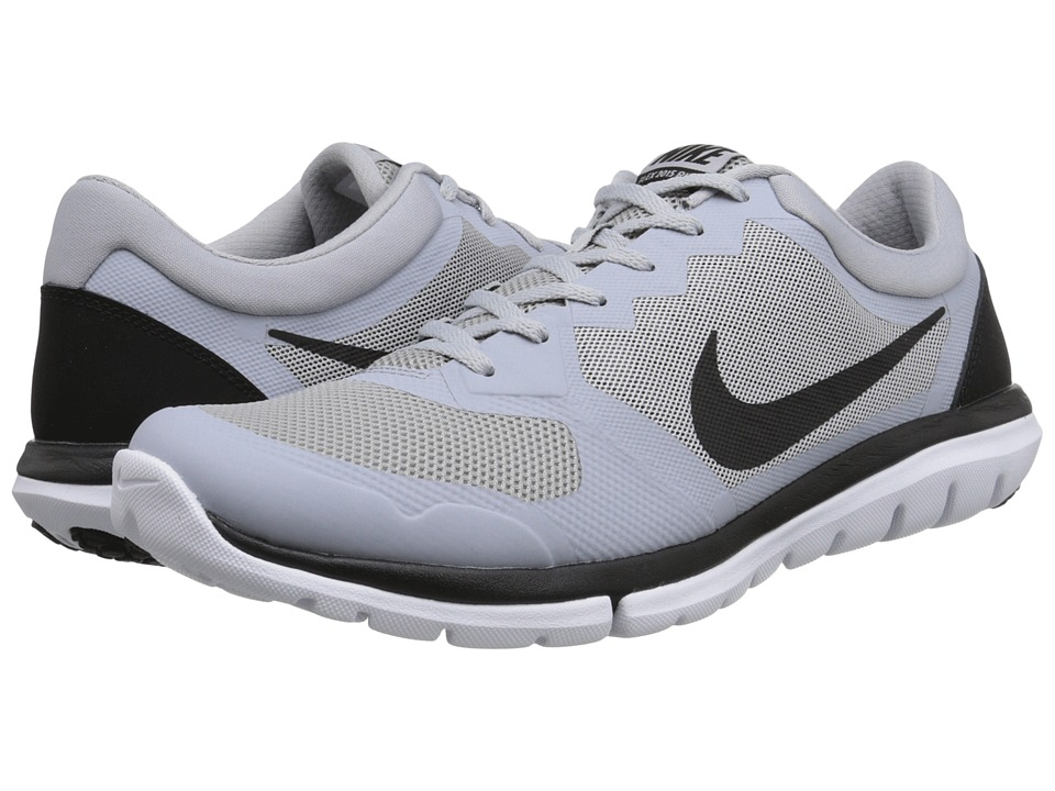 Nike - Flex 2015 RUN (Wolf Grey/White/Black) Men's Running Shoes
