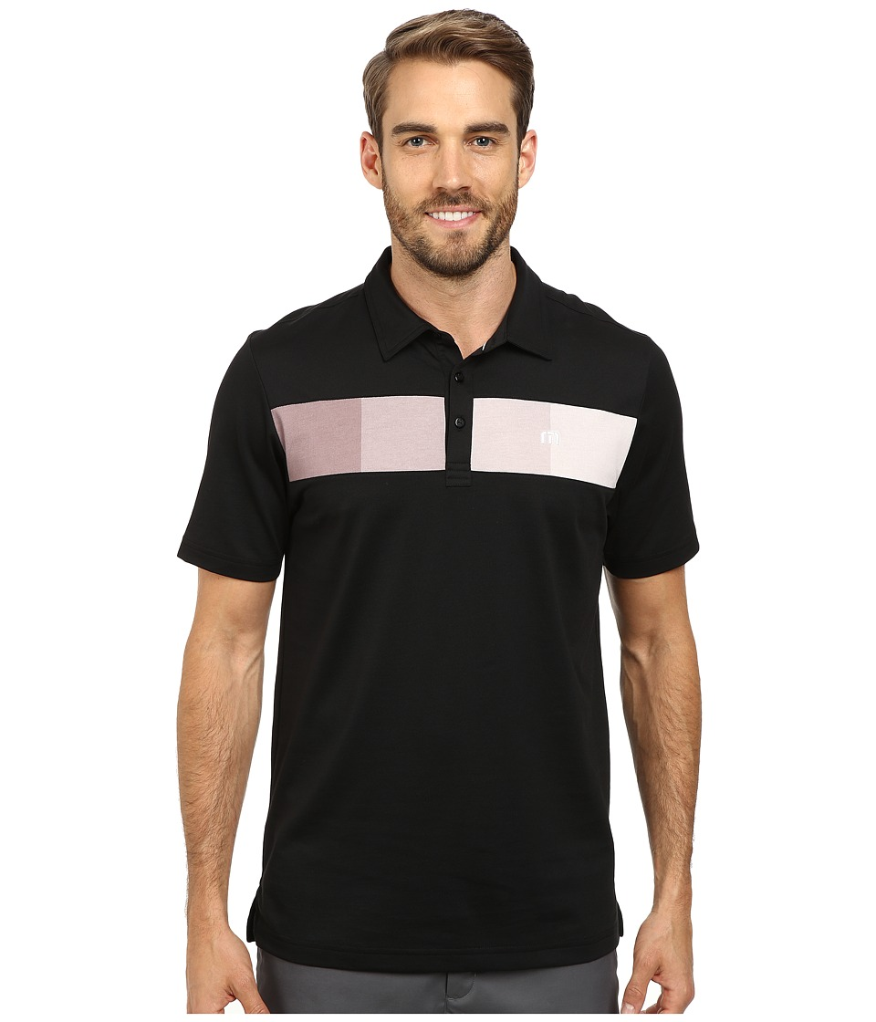 TravisMathew - Chachi Polo (Black) Men's Short Sleeve Pullover