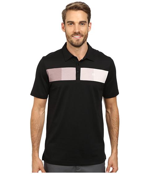 TravisMathew - Chachi Polo (Black) Men's Short Sleeve Pullover