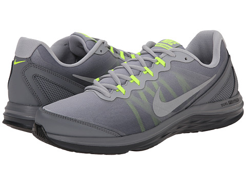 Nike - Dual Fusion Run 3 Premium (Anthracite/Wolf Grey/Cool Grey/Reflect Silver) Men