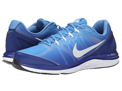 Nike - Dual Fusion Run 3 Premium (Deep Royal Blue/Horizon/Metallic Silver/Reflect Silver) Men