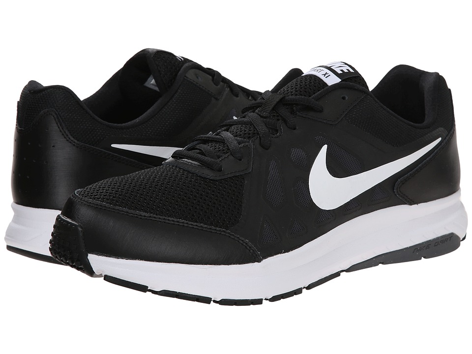 Nike - Dart 11 (Black/Dark Grey/White/White) Men's Running Shoes