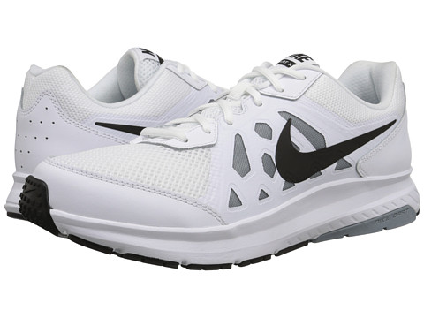 Nike - Dart 11 (White/Dove Grey/White/Black) Men's Running Shoes