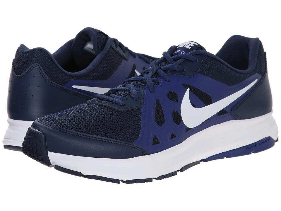 Nike - Dart 11 (Midnight Navy/Deep Royal Blue/White) Men