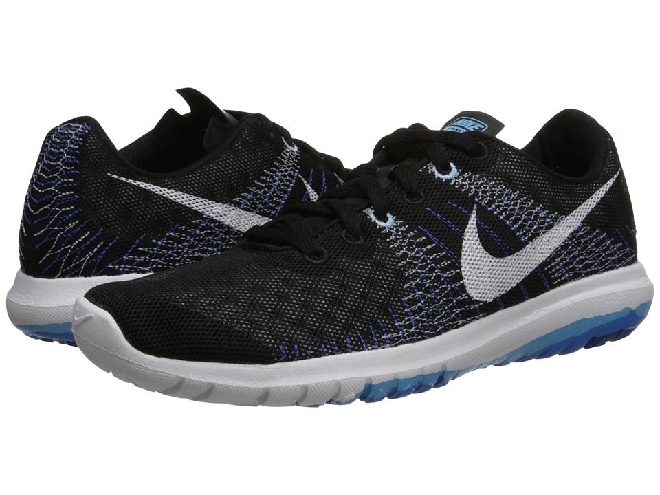 Nike - Flex Fury (Black/Lakeside/Light Photo Blue/White) Women's Running Shoes
