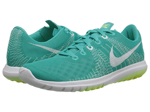 Nike - Flex Fury (Light Retro/Liquid Lime/Cyber/White) Women's Running Shoes