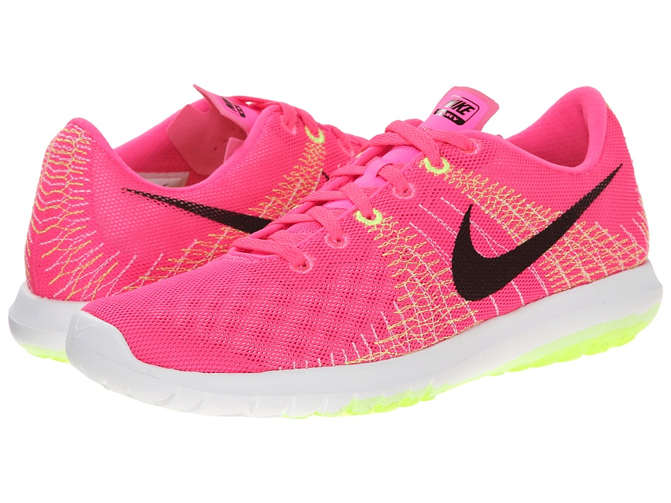 Nike - Flex Fury (Pink Pow/Liquid Lime/Volt/Black) Women's Running Shoes