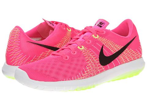 Nike - Flex Fury (Pink Pow/Liquid Lime/Volt/Black) Women's Running Shoes