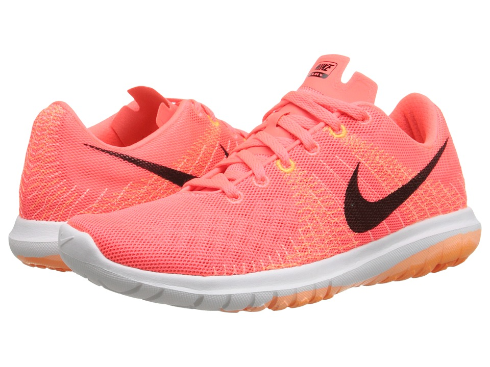 Nike - Flex Fury (Hot Lava/Sunset Glow/Bright Citrus/Black) Women's Running Shoes