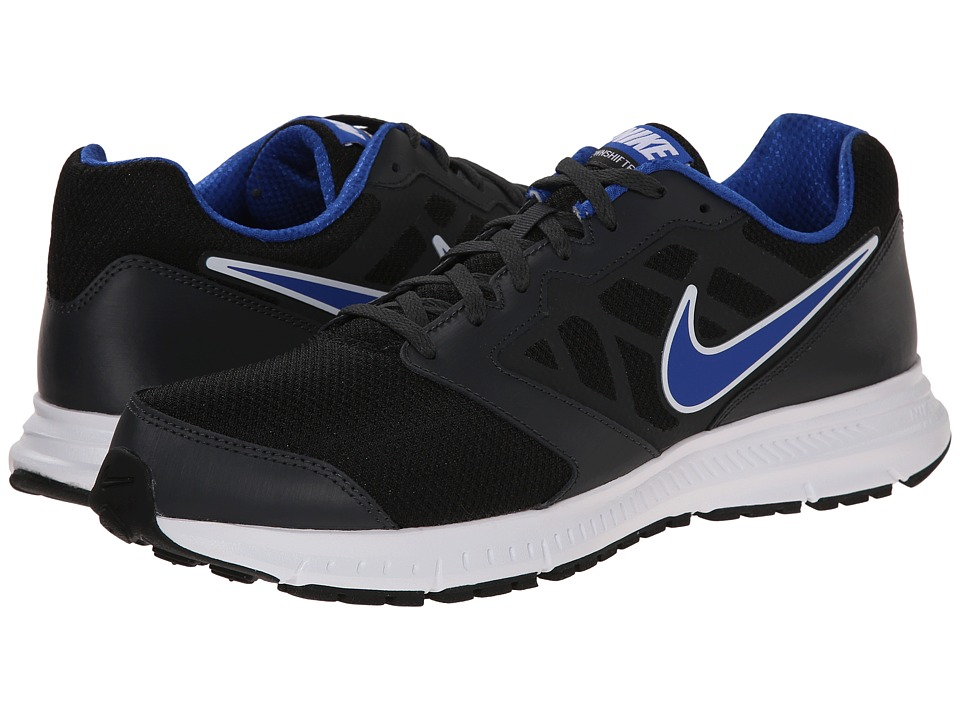 Nike - Downshifter 6 (Black/Anthracite/Game Royal) Men's Running Shoes