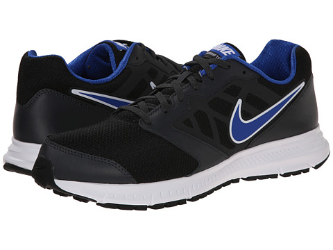 Nike - Downshifter 6 (Black/Anthracite/Game Royal) Men