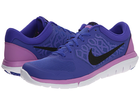 Nike - Flex 2015 RUN (Persian Violet/Fuchsia Glow/White/Black) Women's Running Shoes