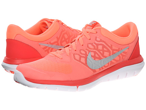 Nike - Flex 2015 RUN (Lava Glow/Bright Crimson/University Red/Metallic Silver) Women