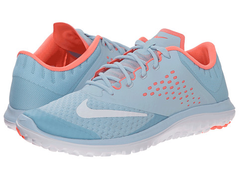 Nike - FS Lite Run 2 (Ice/Lava Glow/White) Women's Running Shoes