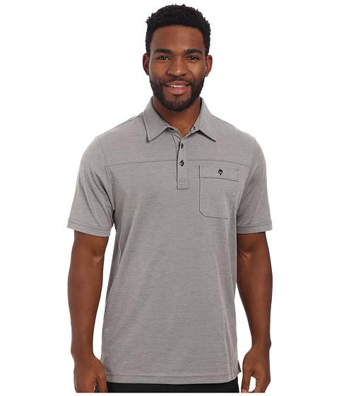 TravisMathew - Drebin Polo (Grey) Men's Short Sleeve Knit