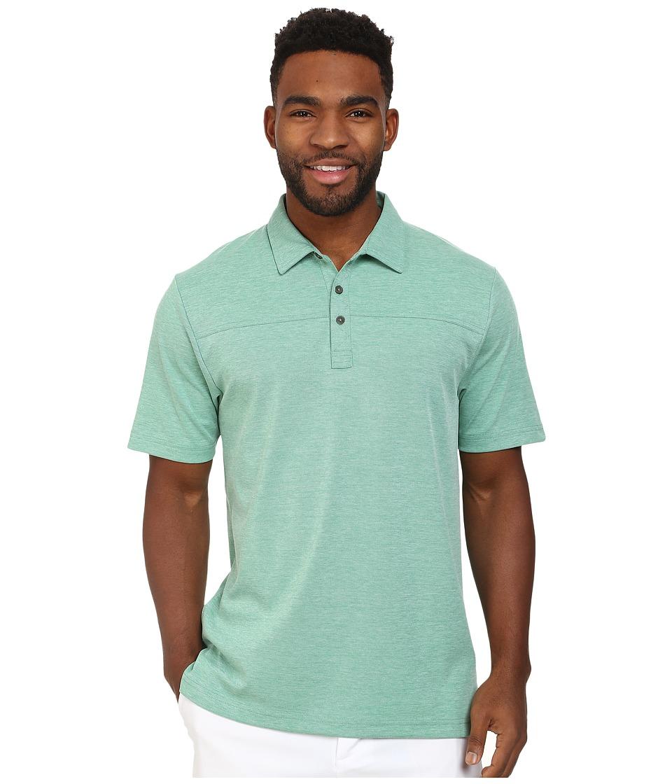 TravisMathew - Callahan Polo (Bosphorus) Men's Short Sleeve Knit