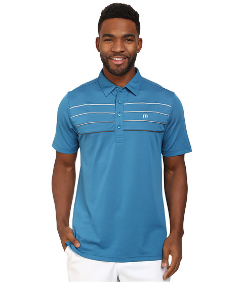 TravisMathew - Cunningham Polo (Celestial) Men's Short Sleeve Knit