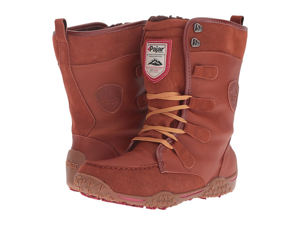 Pajar CANADA - Gaetana (Cognac) Women's Cold Weather Boots
