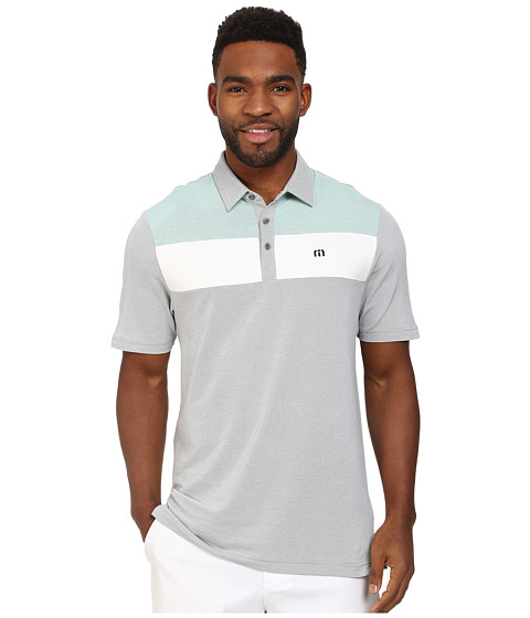 TravisMathew - Bueller Polo (Grey) Men