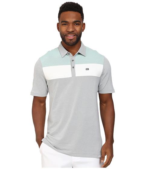 TravisMathew - Bueller Polo (Grey) Men's Short Sleeve Knit