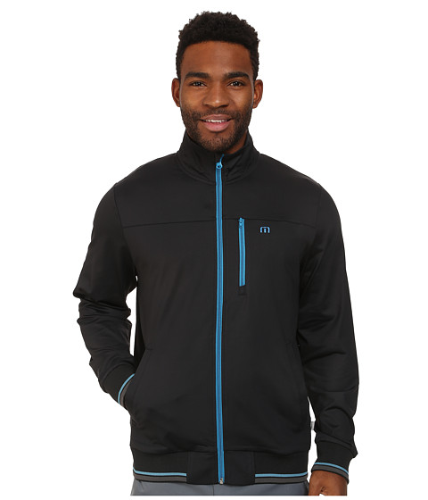 TravisMathew - Straight Jacket (Black) Men's Jacket