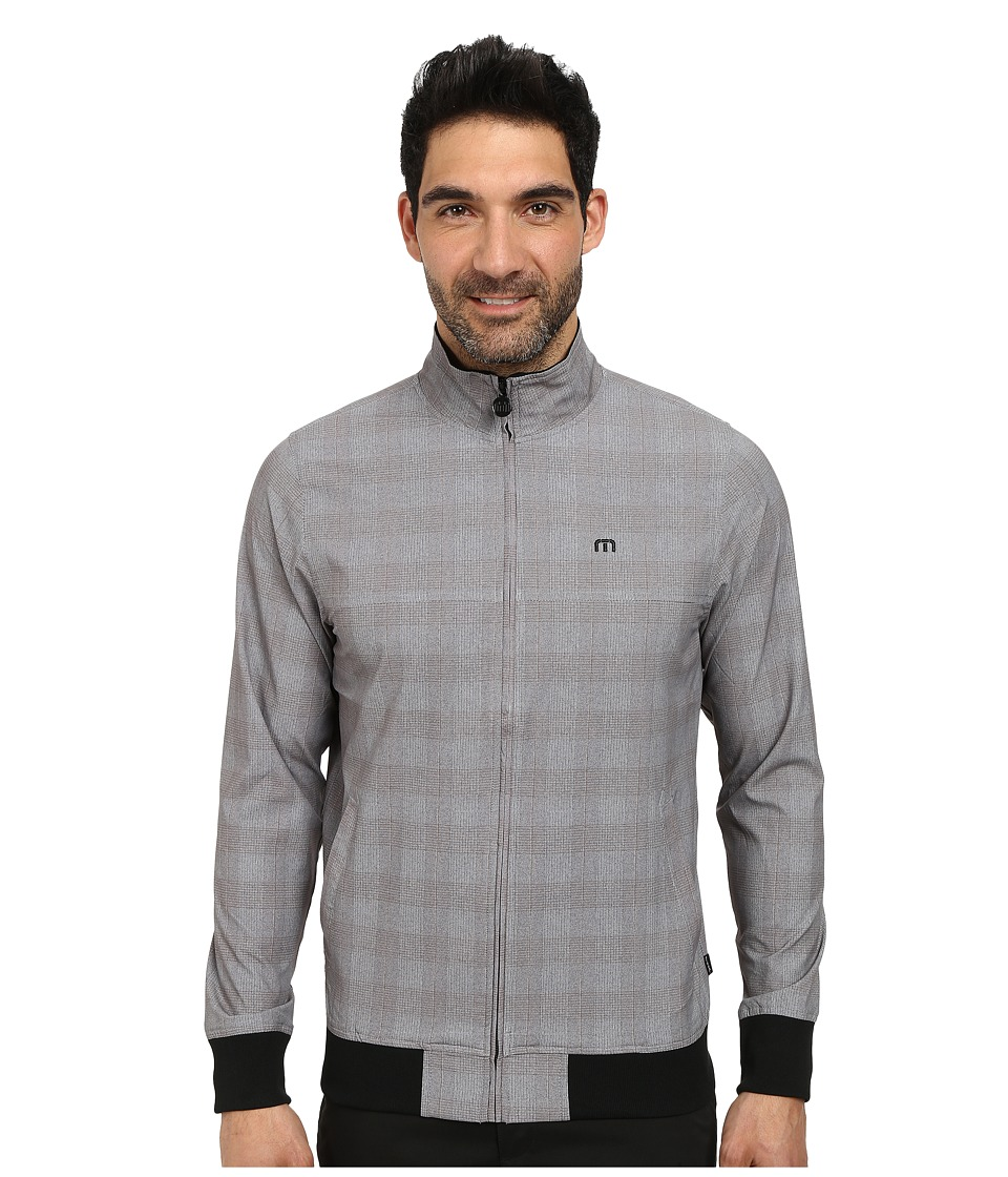 TravisMathew - Cosmo Jacket (Monument Glen Plaid) Men's Jacket
