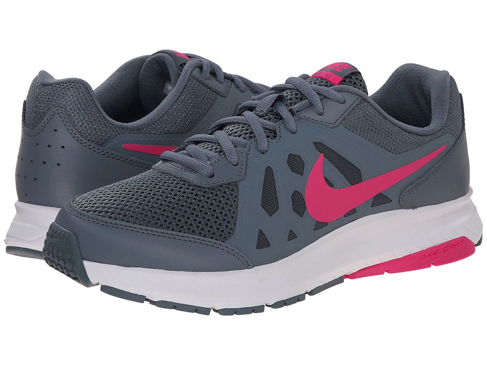 Nike - Dart 11 (Blue Graphite/Dove Grey/White/Pink Foil) Women's Running Shoes