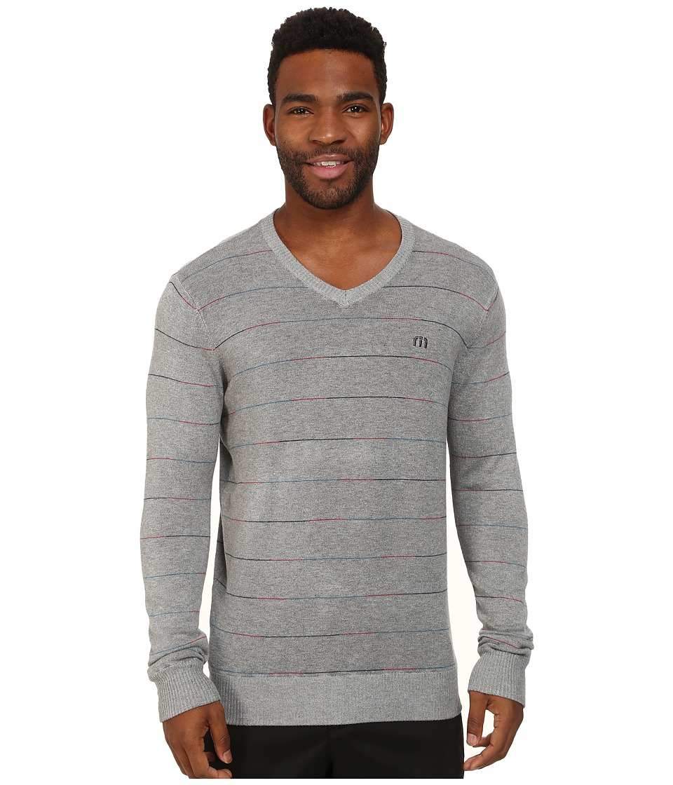 TravisMathew - Jaws Sweater (Heather Quarry) Men