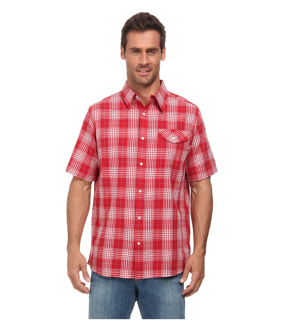 Mountain Khakis - Shoreline S/S Shirt (Engine Red) Men's T Shirt
