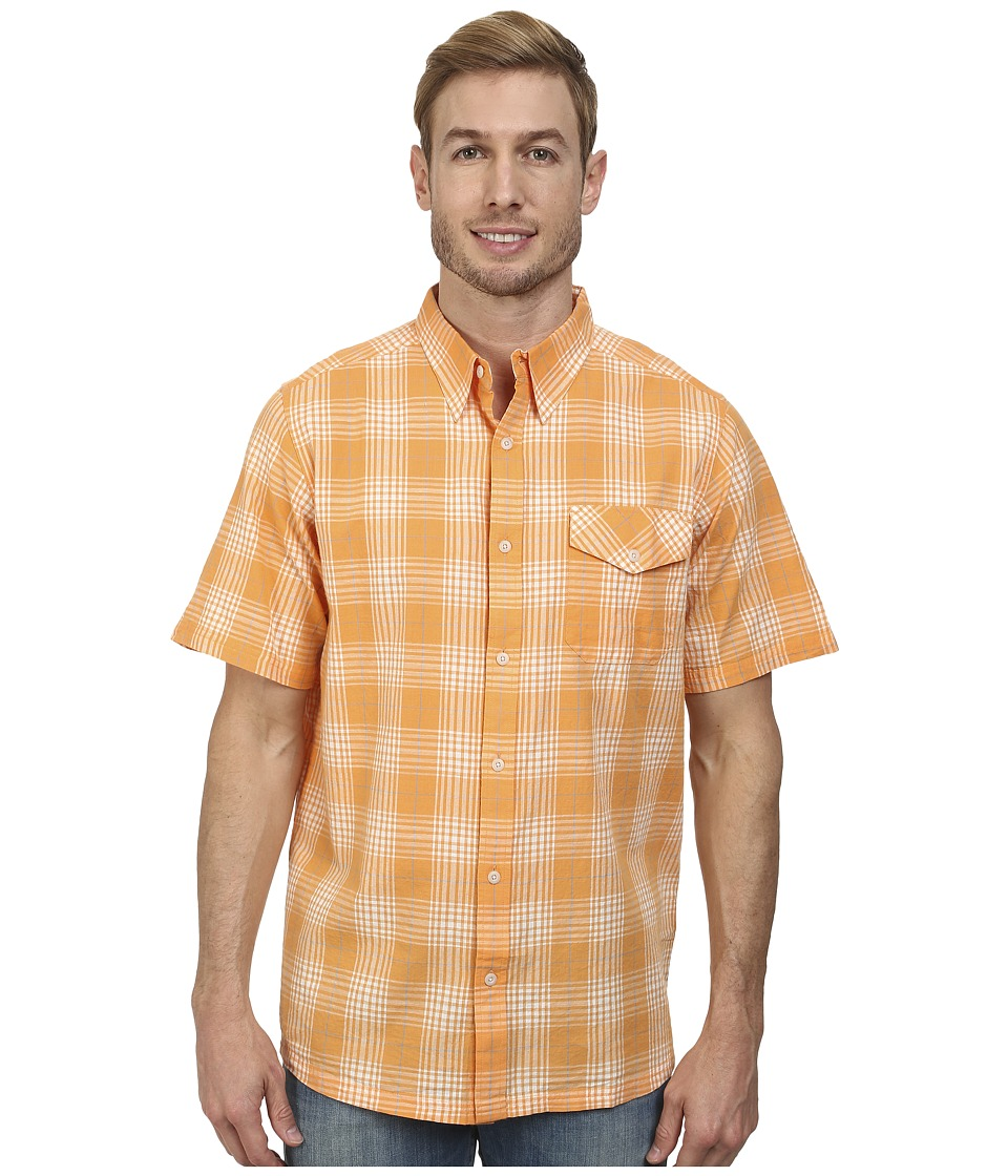 Mountain Khakis - Shoreline S/S Shirt (Mango) Men's T Shirt