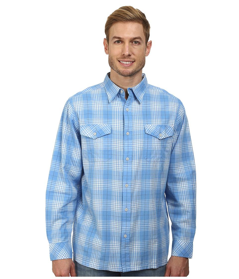 Mountain Khakis - Shoreline L/S Shirt (Blue Note) Men's T Shirt