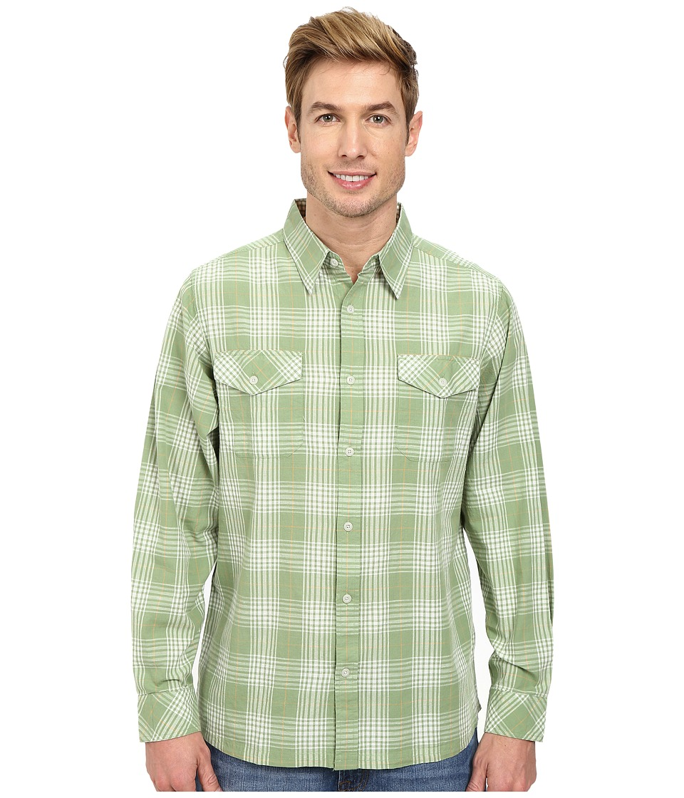 Mountain Khakis - Shoreline L/S Shirt (Mint) Men's T Shirt