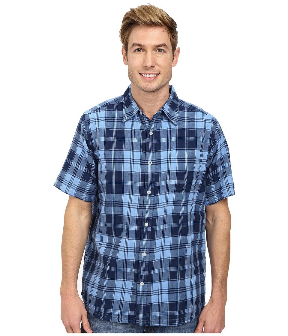 Mountain Khakis - Two Ocean S/S Shirt (Clear Blue/Blue Note) Men's T Shirt