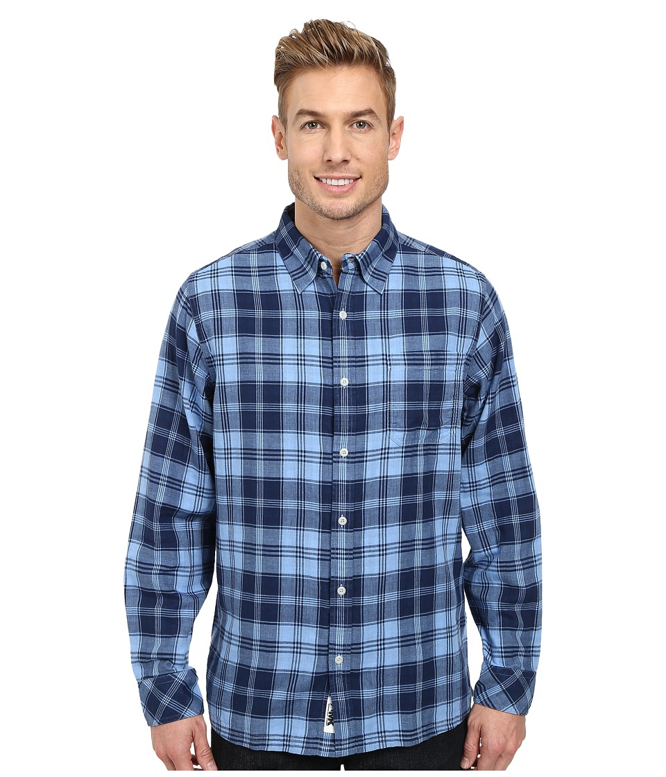Mountain Khakis - Two Ocean L/S Shirt (Clear Blue/Blue Note) Men's Long Sleeve Button Up