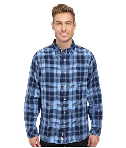 Mountain Khakis - Two Ocean L/S Shirt (Clear Blue/Blue Note) Men