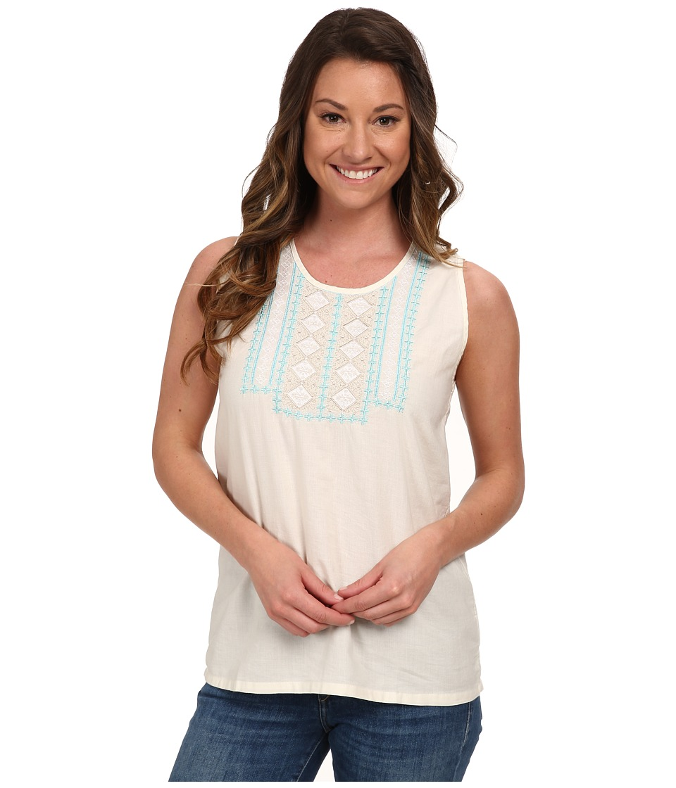 Mountain Khakis - Sunnyside Tank (Cream) Women's Sleeveless